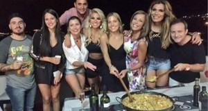 Los más unidos de la temporada: Fede Bal, Barbie, Flor, Iliana, Laurita y Ailen