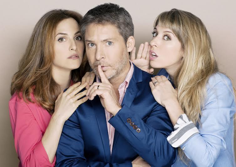 Suar, Julieta Díaz y Flor Bertotti, triángulo en domingo