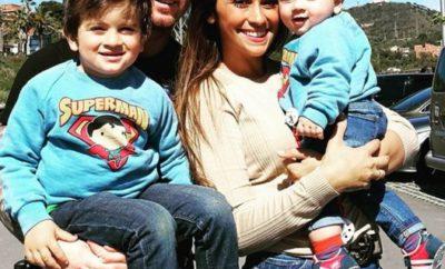 Lio Messi y familia
