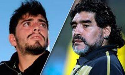 Diego ARmando Maradona.Diego Jr