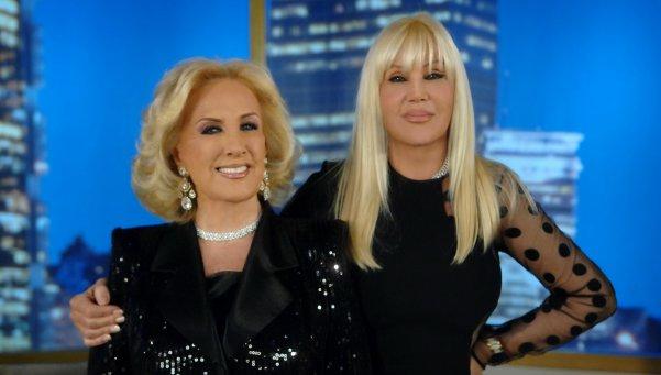 Mirtha Legrand y Susana Gimenez, juntas, de casamiento