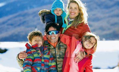 Sebastian Estevanez en familia