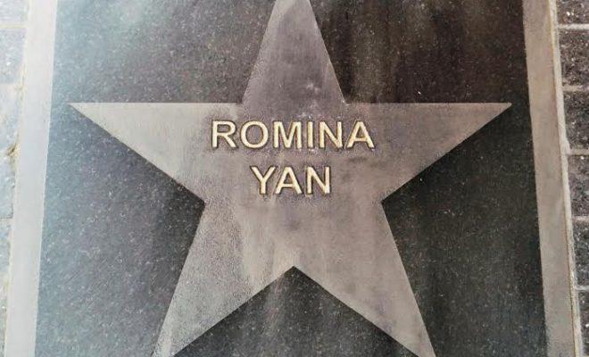 Romina Yan Ya Tiene Su Estrella En La Calle Corrientes