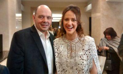Carlos y Karina Rottemberg casados por amor a su hijo