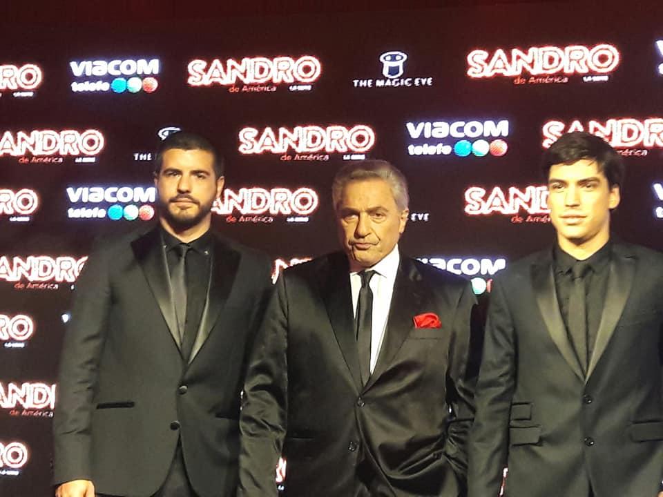 "Así será la fiesta de ""Sandro, la serie"". Red carpet, invitados."