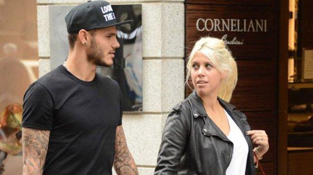 Wanda Nara lleva a Icardi al nivel del pase de Neymar