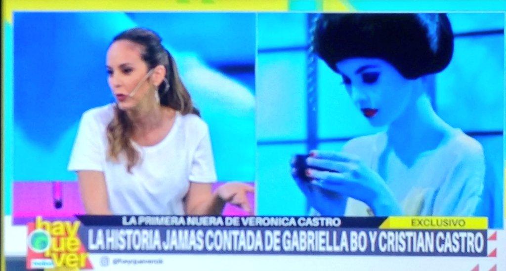 La ex de Cristian habló de Vero Castro y Luis Miguel