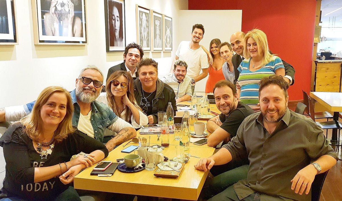 """Jorge Rial reunió a sus """"Intrusos"""" por el 12N"""