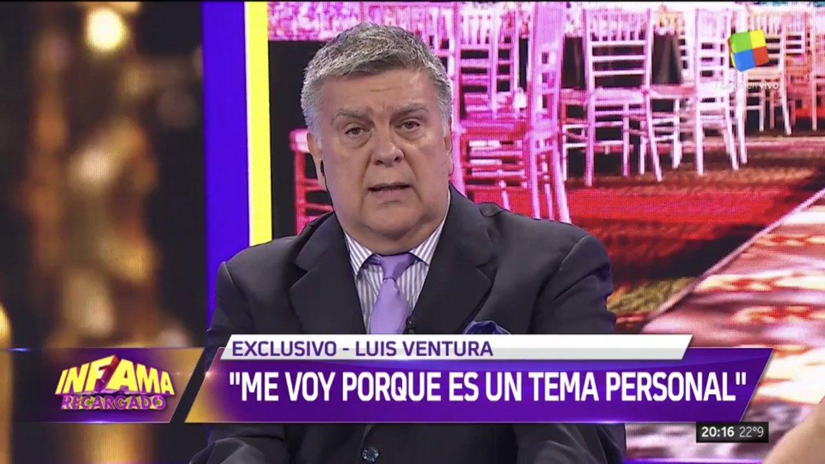 """Luis Ventura: """"la renuncia a APTRA es un tema personal, de soledad espiritual"""""""