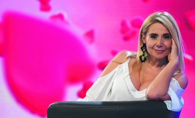 Andrea Politti, la reina del talk show, ahora con Tinelli