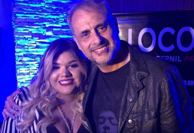 Morena Rial todavía no habló sobre la relación con su papá
