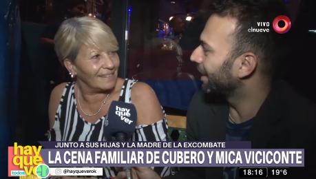 """La coherente mamá de Mica Viciconte: """"Nicole es una mujer preciosa"""""""
