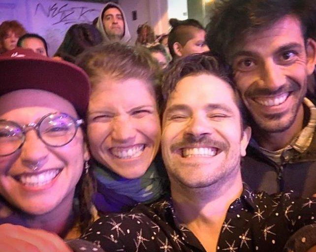 El reencuentro de Camila Bordonaba y Felipe Colombo