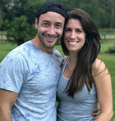 Luciano Pereyra blanqueó novia