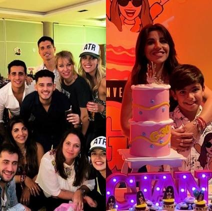 Los 30 de Gianinna Maradona con El Polaco