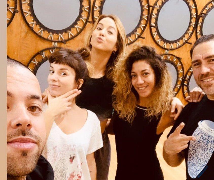 Flor Vigna y Gime Accardi arman banda