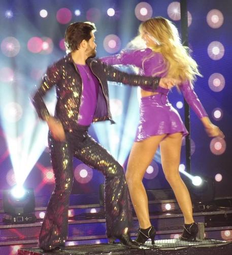 """Se fue la primera pareja en el """"Bailando"""""""