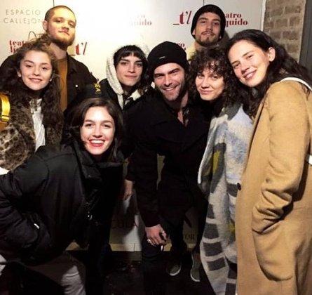 Los actores de #ATAV, a todos lados juntos