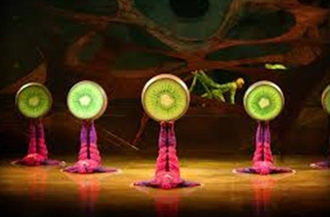Delfi Chaves, Rial, Flor de la V, Agus Cherri y más en el Cirque du Soleil