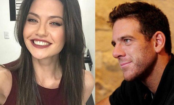 Amor confirmado: Del Potro y Jujuy, besos en el Llao LLao