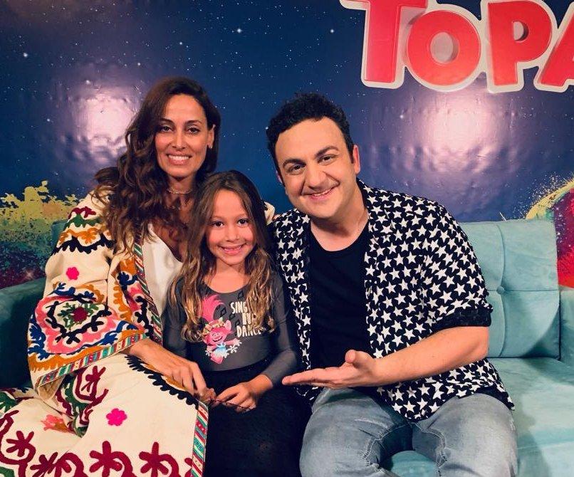 Preciosa la hija de Diego Torres a sus seis años