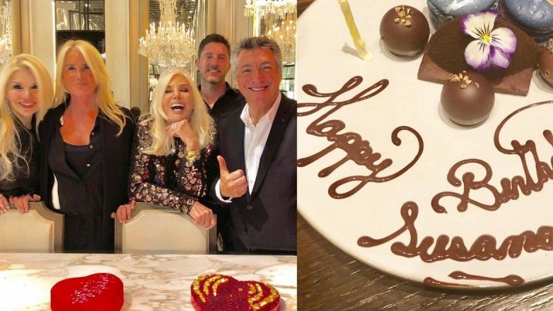 Susana Gimenez en New York de cumple