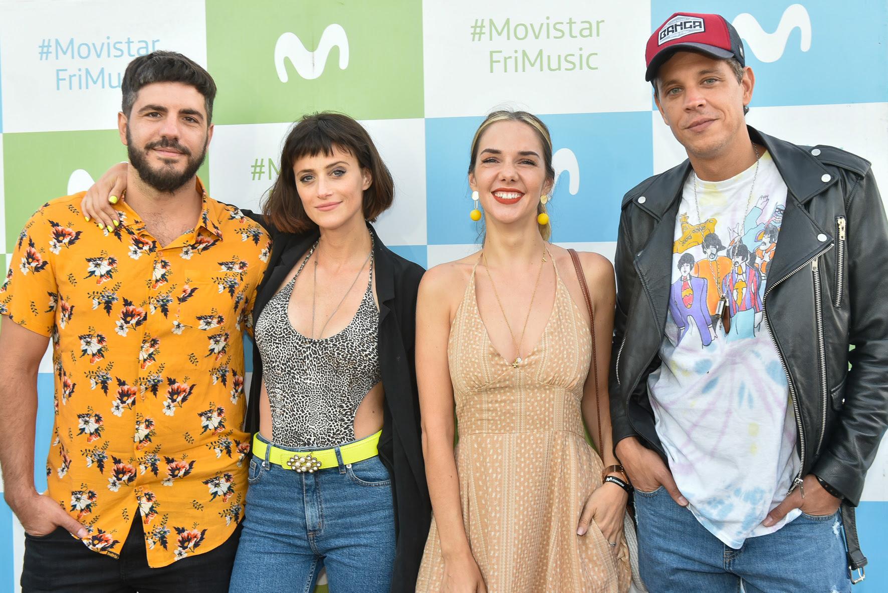 """Las """"Separadas"""" en el show de """"Didividos"""" en Mardel"""